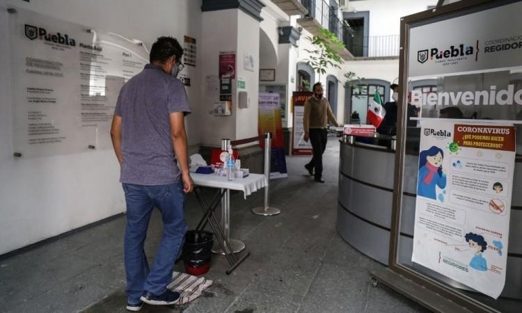 A partir del 1 de noviembre se reincorporará al 100 % trabajadores del Ayuntamiento de Puebla