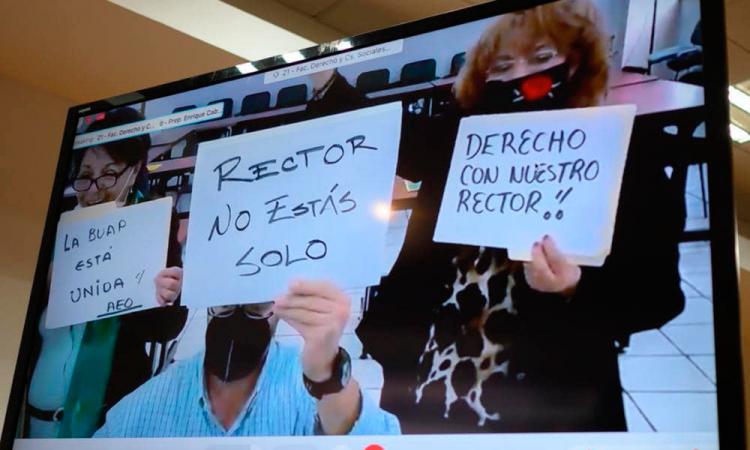 BUAP acusa persecución política del Gobierno de Puebla y pide apoyo a la federación
