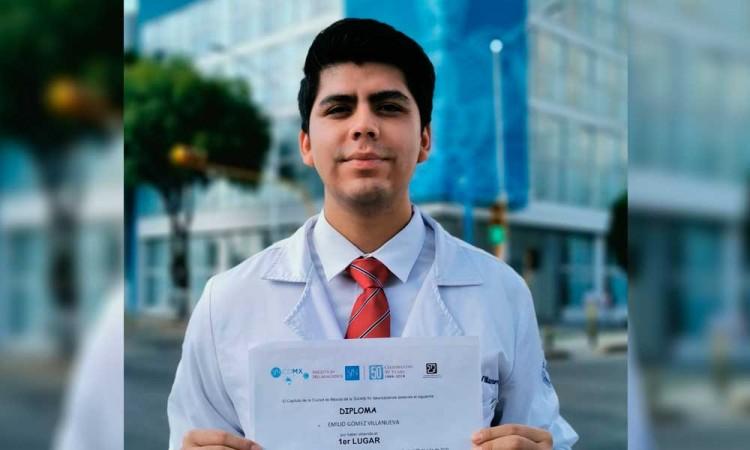Estudiante de Medicina BUAP, primer lugar de la Olimpiada Nacional de Neurociencias