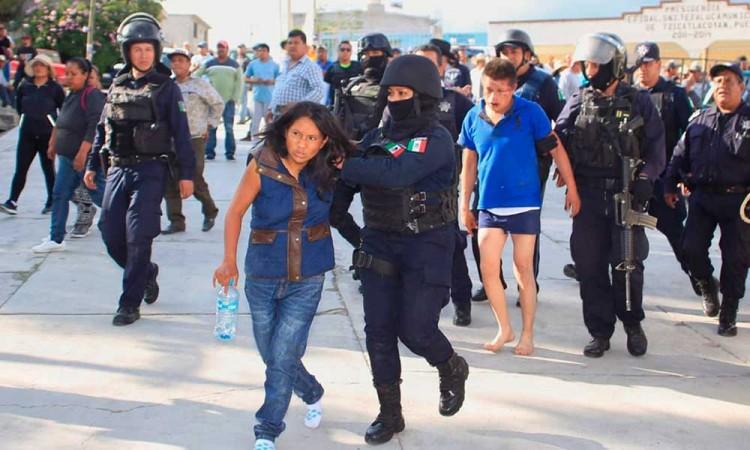 En cinco municipios poblanos se concentran los intentos de linchamiento