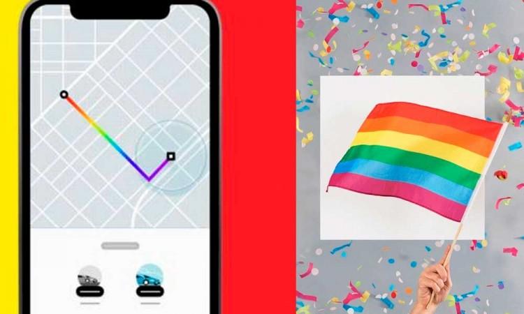 Uber celebra matrimonio igualitario en Puebla con ruta de arcoíris