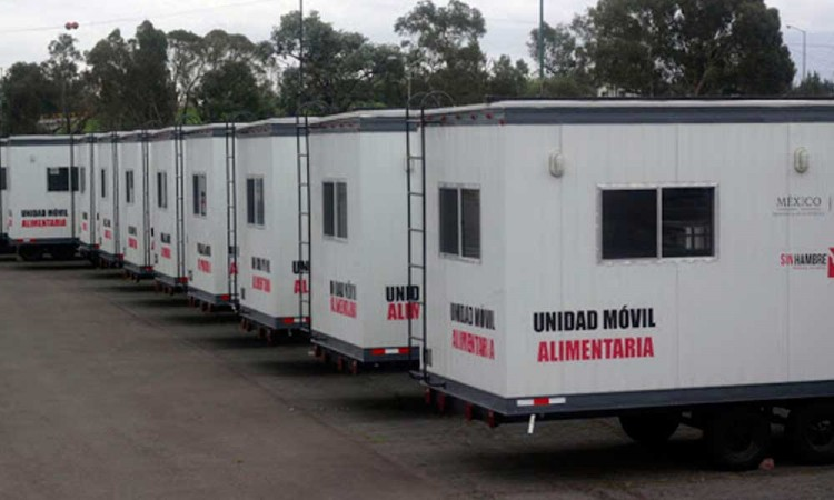 Barbosa desaparecerá Unidades Móviles Alimentarias