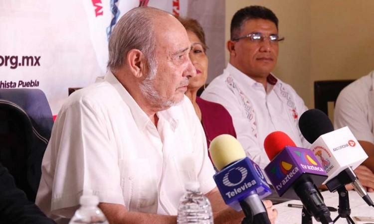Por pésimo manejo, hay en Puebla 5 mil muertos por Covid: Antorcha