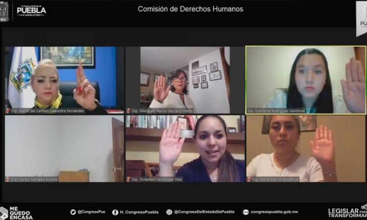 Avalan perfiles para integrar consejo de CDH Puebla