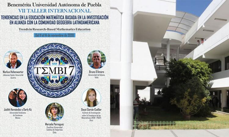 En BUAP impartirán VII Taller de Tendencias en la Educación Matemática