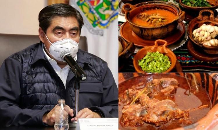 En fiesta de funcionarios en Tehuacán faltó la responsabilidad, critica Barbosa