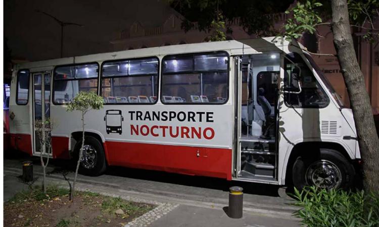 Reanudan transporte nocturno en Puebla por el Buen Fin