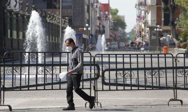 Suma Puebla 680 casos activos y 5 mil 99 muertes  por coronavirus