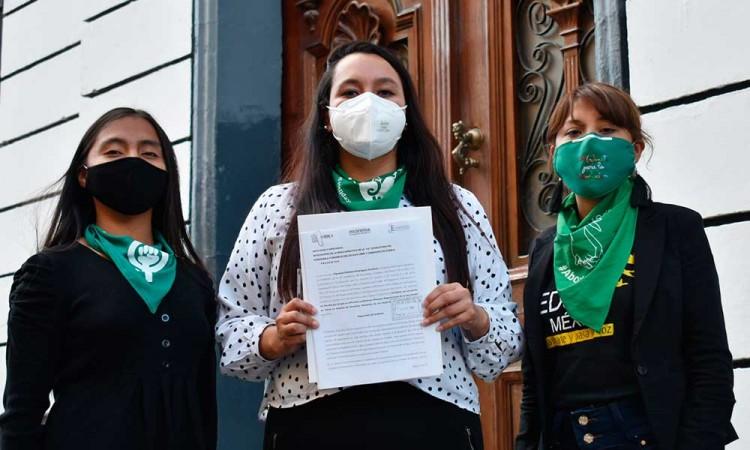 Morena envía iniciativa para legalizar el aborto en Puebla