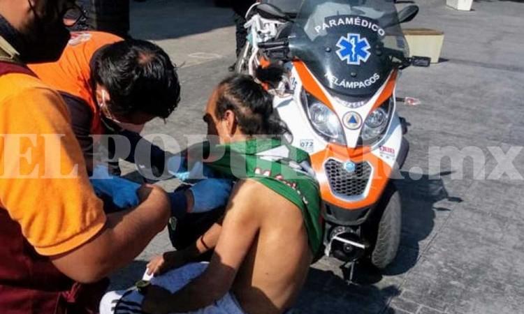 Mujer apuñala a su pareja en Paseo Bravo