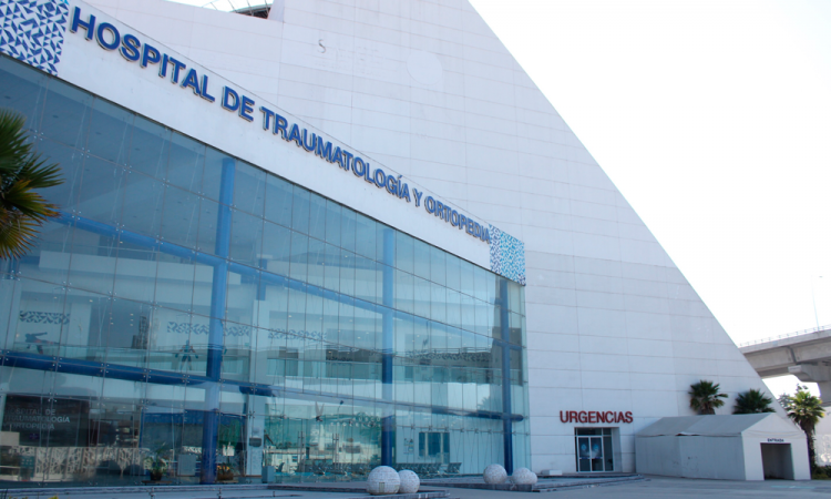 Reconvierten Hospital de Traumatología; en espera de brindar servicio