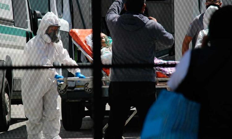 A la baja, personas internadas en hospitales Covid-19 en Puebla