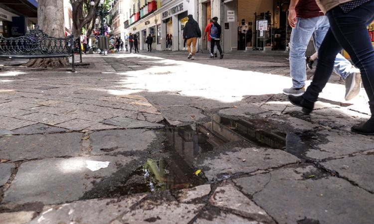 Obras del Corredor 5 de Mayo no están suspendidas, aclara Ayuntamiento