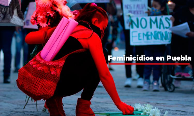 En promedio se registran 4 feminicidios por mes en Puebla
