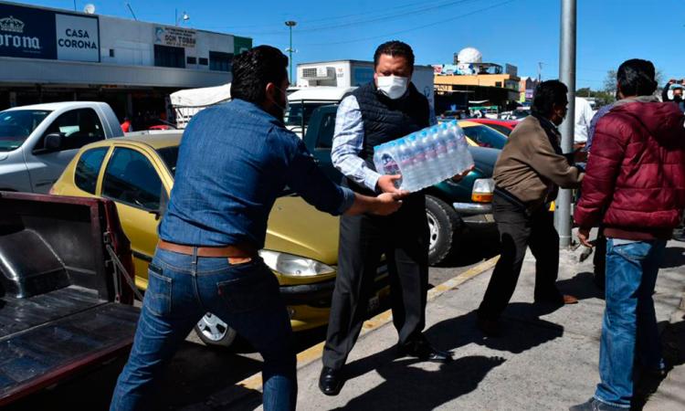 Sindicalizados se solidarizan y envían 6 toneladas de apoyo a Tabasco