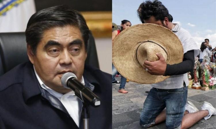 Pide Barbosa a peregrinos abstenerse de visitar la Basílica de Guadalupe