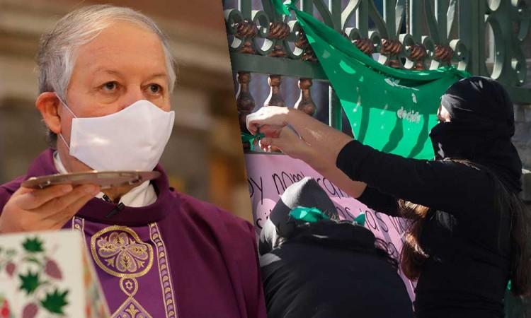 """""""Dios es quien decide"""", arzobispo de Puebla pide respeto por la vida"""