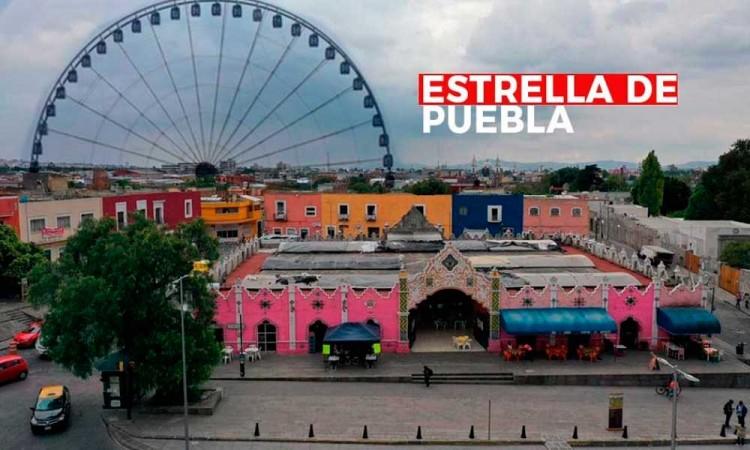 Vecinos de San Francisco sí quieren la Estrella de Puebla