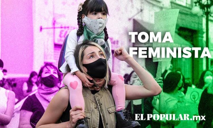 10 días de resistencia: Así se vive la Toma del Congreso Feminista