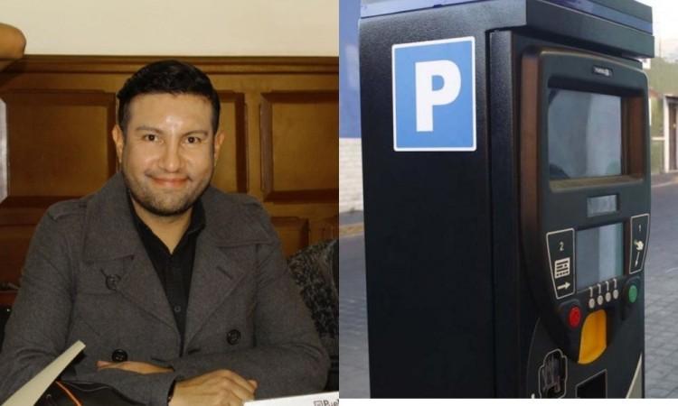 En caso de instalarse tarifa de Parquímetros sería la hora de 8 pesos : Covián Carrizales