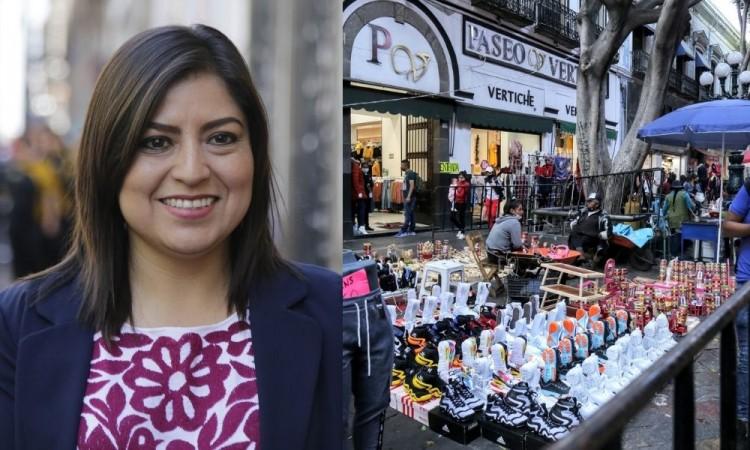No sólo ambulantes provocaron aumento de contagios, revira Claudia Rivera al gobierno estatal