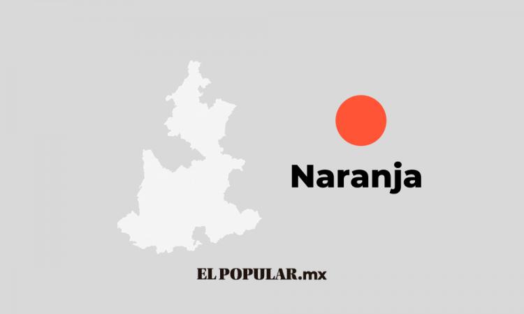 Puebla retrocede al Semáforo Naranja ante aumento de contagios