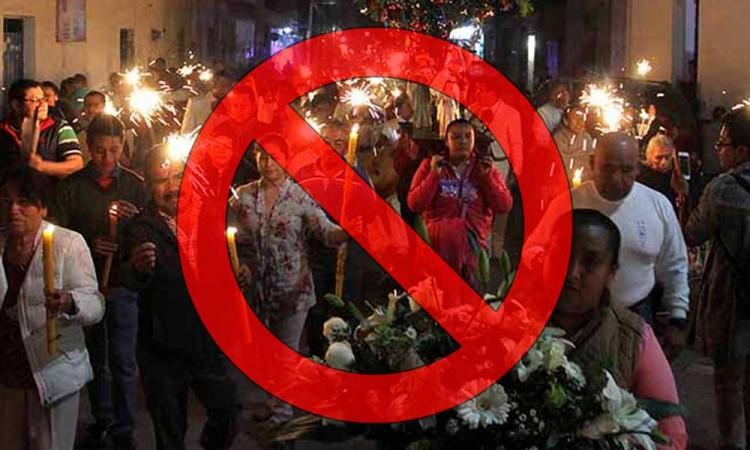 Decreto prohíbe fiestas de más de 10 personas en Puebla