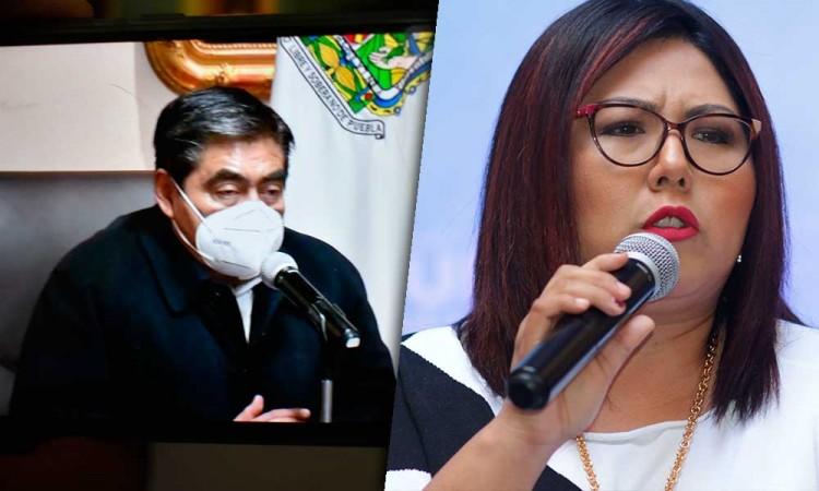 Genoveva Huerta denuncia a Barbosa por realizar conferencias mañaneras