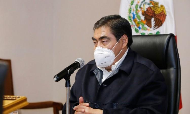 Puebla capital no está funcionando en acciones Covid-19, reprocha Barbosa