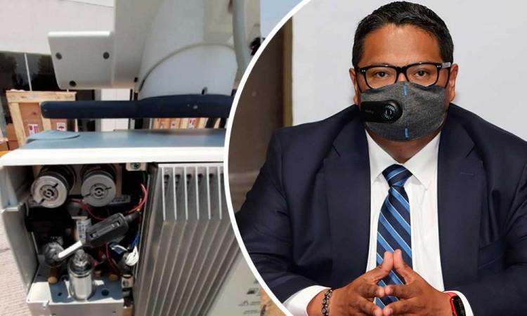 Leobardo Rodríguez no ha recibido denuncias ante compra de ventiladores de segunda mano