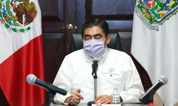 Gobernador de Puebla, Miguel Barbosa Huerta.