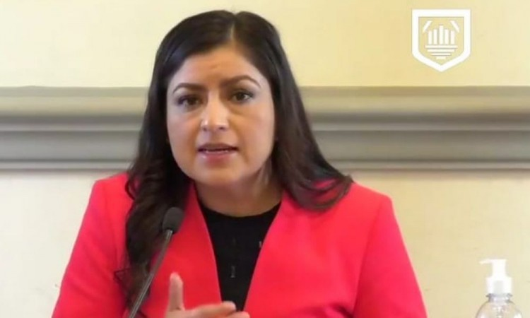 Terrible la persecución desde el Congreso que es utilizado como garrote político por instrucciones: Claudia Rivera