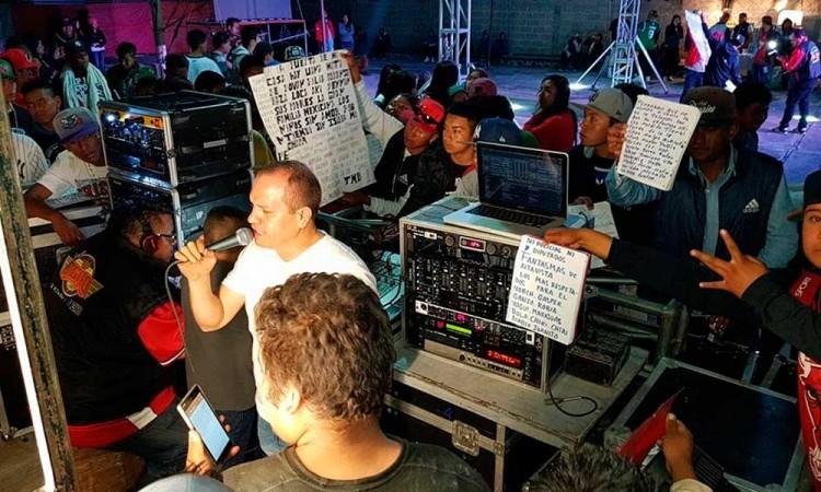 Intentan suspender sonideros en Puebla pero agreden a personal de PC