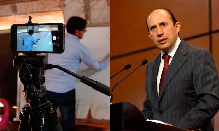 Defiende Manzanilla que maestros que realizan teletrabajo tengan beneficios
