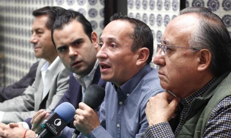 Mario Conde Rodríguez, secretario Jurídico del PRI en Puebla.