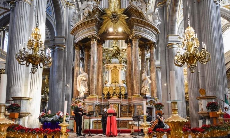 Realizó la UDLAP su tradicional concierto de Navidad virtual