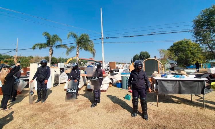 Gobierno de Cholula viola amparo federal y desaloja a familia de su vivienda