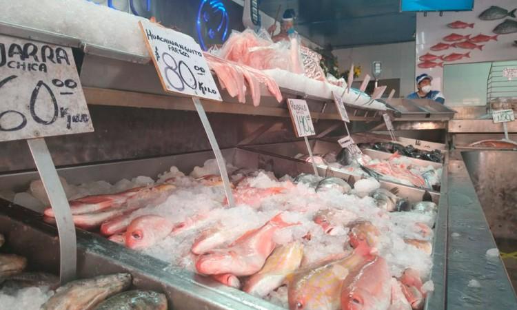 Pescaderos registran 40 por ciento de pérdidas en sus ventas