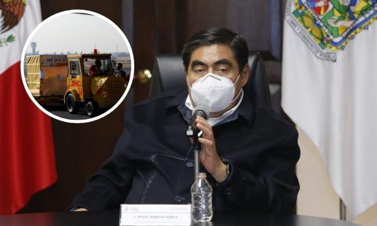 Barbosa celebra llegada de vacuna a México