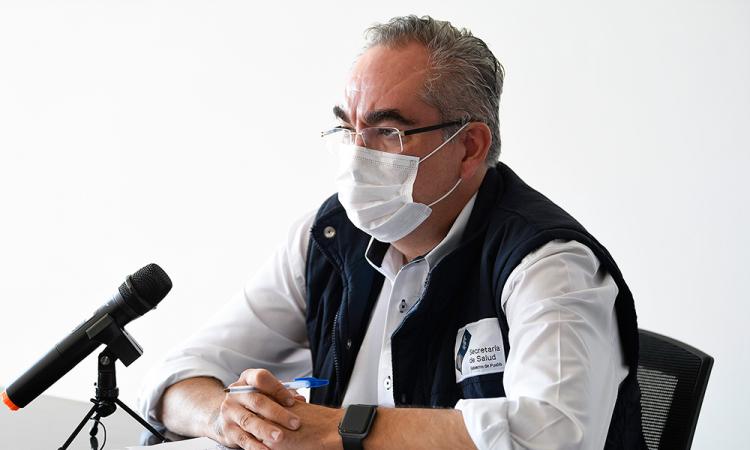 Secretario de Salud, José Antonio Martínez García