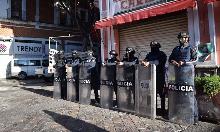 Piden empresarios intervención de la federación para controlar ambulantaje en Puebla