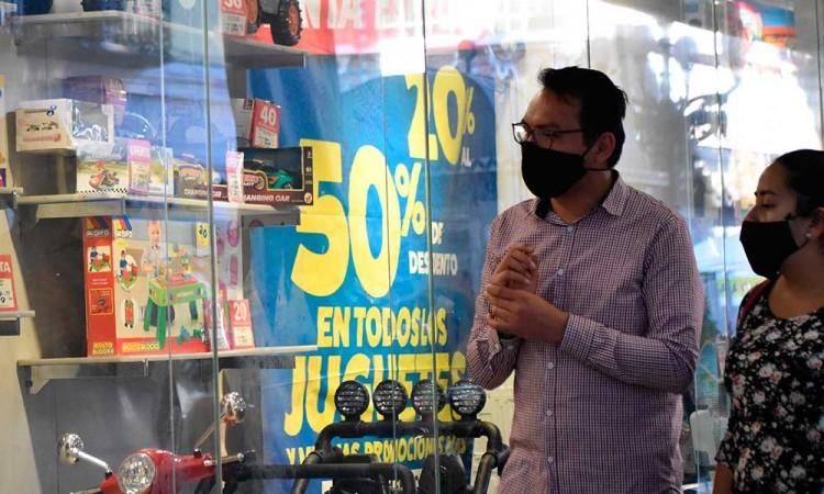 """Empresarios ven como """"acertada"""" el permiso para vender juguetes en Puebla"""