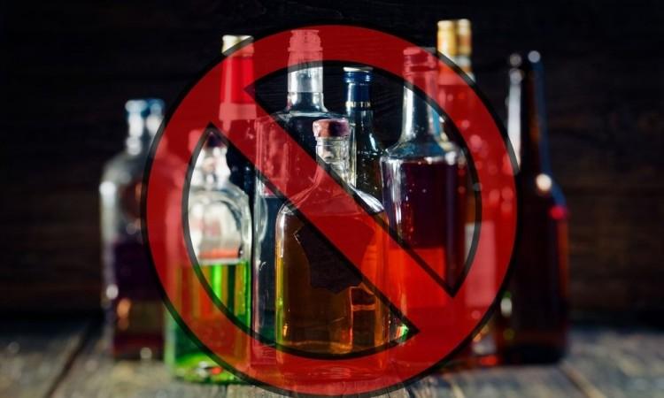El gobierno estatal prohibió la venta de bebidas alcohólicas.