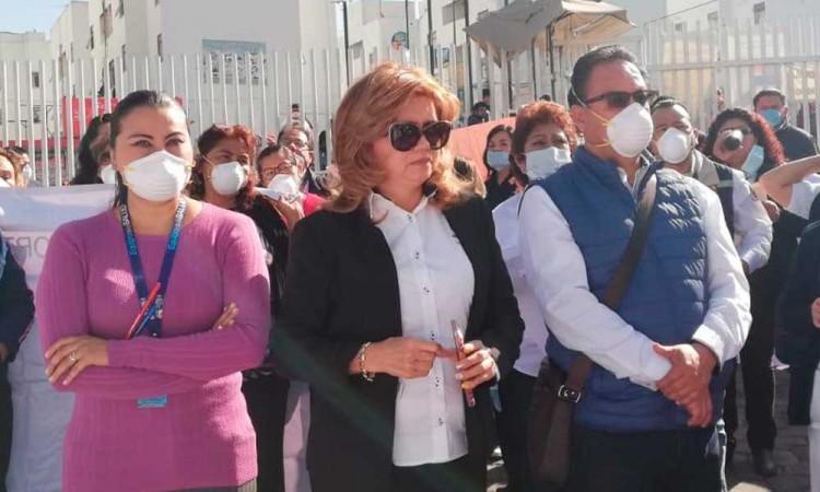 Sindicato de médicos pide apoyo al gobierno de Puebla y que deje de lado la grilla política