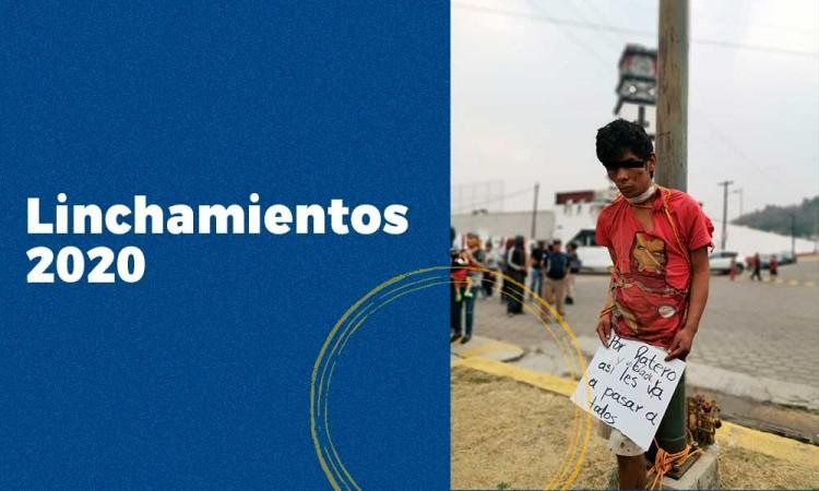 Lincharon a nueve personas en Puebla durante el 2020