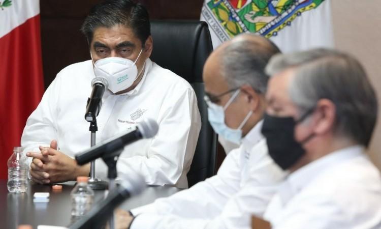 Dos semanas más del segundo confinamiento en Puebla, instruye Barbosa