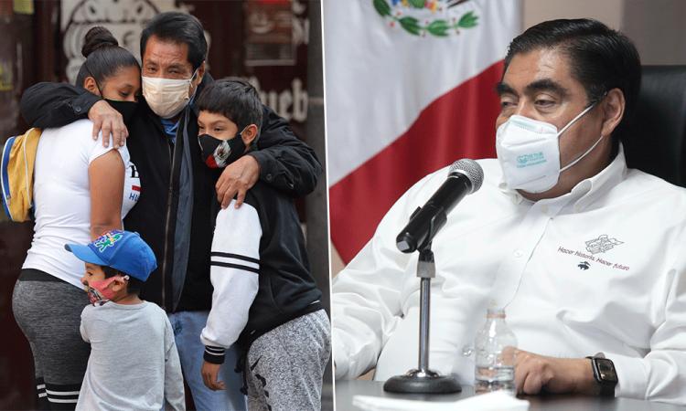Hoy, el peor día de la pandemia en Puebla: Barbosa