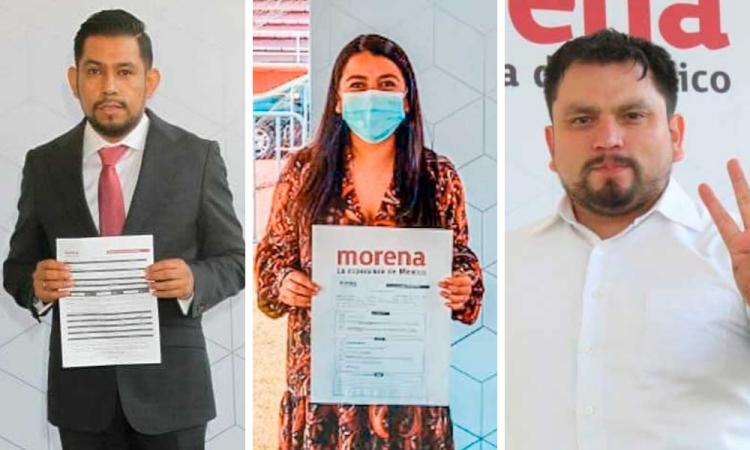 Desde los Rivera Vivanco a diputados en funciones: Ellos aspiran a diputado federal por Morena