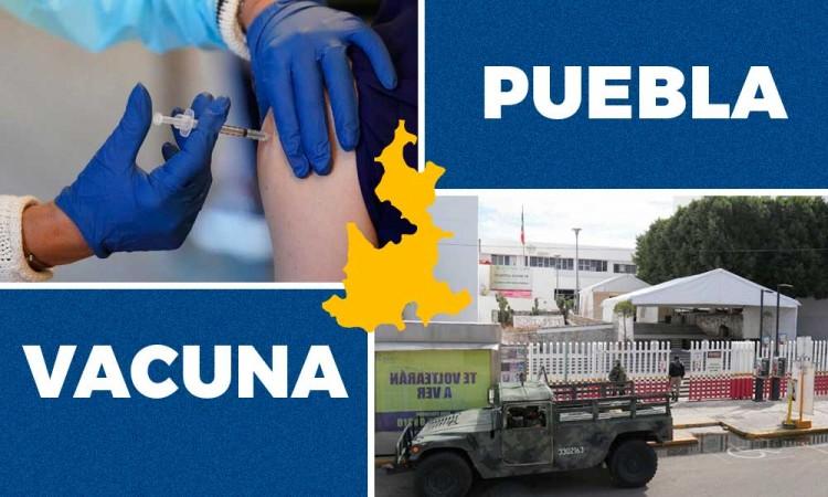 Así comenzará la vacunación del Covid-19 en 37 hospitales de Puebla