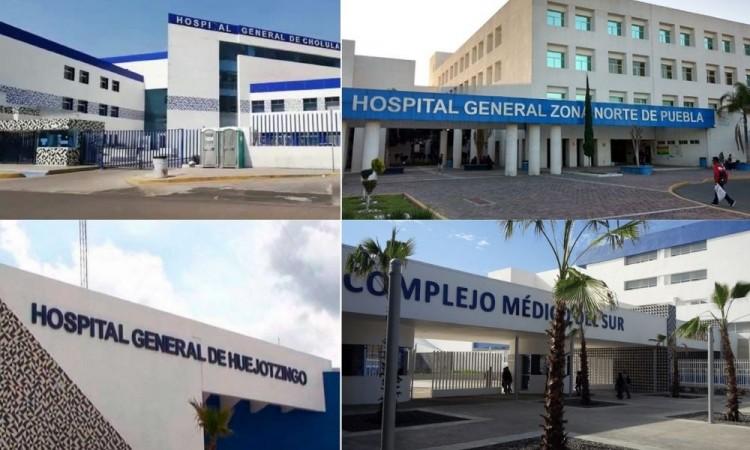 Cuatro hospitales en Puebla a punto del colapso